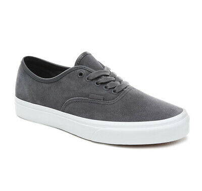 Vans Authentic Soft Suede - Ebony/White (Vn0A38Emvke1) Rrp £60.00