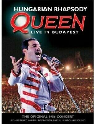 Hungarian Rhapsody - Queen Live in Budapest (1986) REGION FREE DVD - NEW