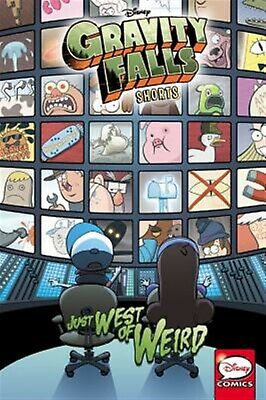 Disney Gravity Falls Shorts: Just West of Weird by Disney -Paperback