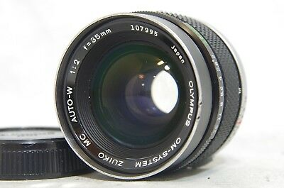 Olympus OM-System Zuiko MC Auto-W 35mm f/2 MF Lens SN107995 from Japan