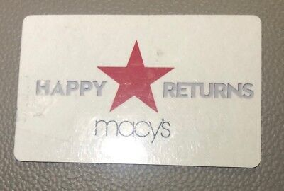 Macy's Gift Card $218.68 Value For $210 (Gift Will Be Mailed Only NOT Emailed)