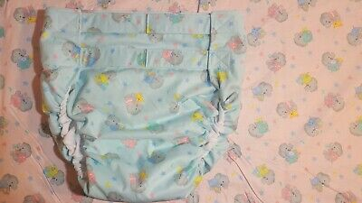 Dependeco All In One cloth adult diaper S/M/L/XL (baby elephants)