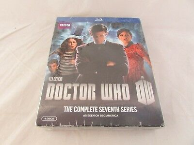 Doctor Who: The Complete Seventh Series (Blu-ray Disc, 2013, 4-Disc Set) NEW