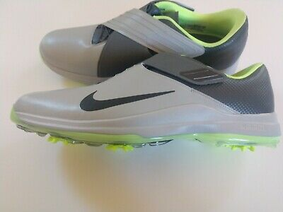 new arrival f1ee5 ccec2 Nike Men s TW 17  Tiger Woods Golf Shoes Spikes Grey Green 880955-002 Size