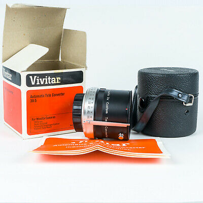 Vivitar 3x-5 Automatic Tele Converter for Minolta SR-Series MD Mount Lenses