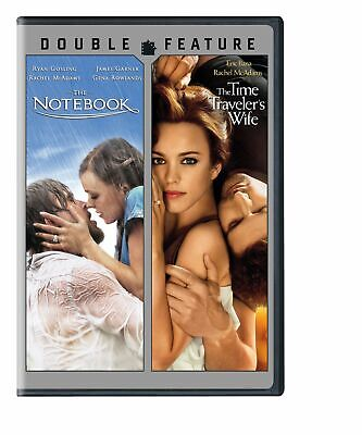 The Notebook / The Time Traveler's Wife (DVD, Widescreen, 2-Disc Set) NEW