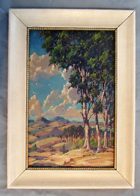 Gustave Cimiotti Oil Painting 1875-1969 Landscape Circa 1940s