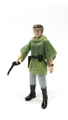 Star Wars Rebels Saga Legends SL28 Endor Poncho Princess Leia Loose Complete