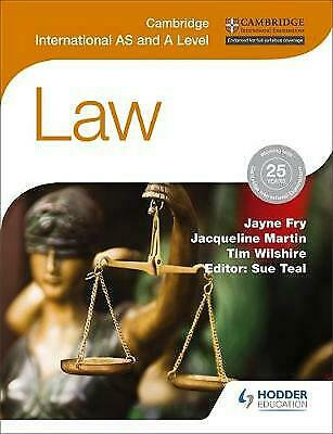 Cambridge International AS and A Level Law, Fry, Jayne