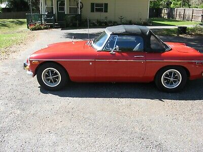 1971 Mg Mgb  1971 Mgb Roadster With  5 Speed Transmission Conversion