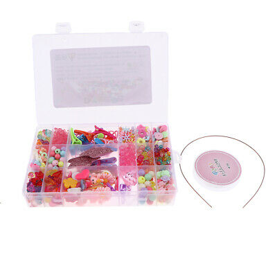 Assorted Color & Shape Acrylic Beads for Jewelry Making Girls Gift