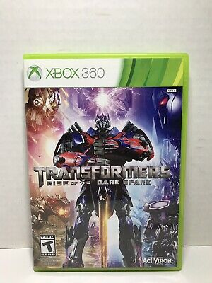 Transformers: Rise of the Dark Spark (Microsoft Xbox 360, 2014) *Fast Free S/H*
