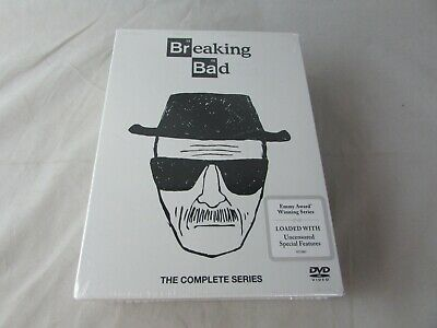 Breaking Bad: The Complete Series (DVD, 2016, 21-Disc Set) NEW, SEALED