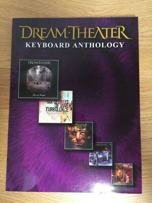 Dream Theater - Keyboard Anthology (Softcover Book)