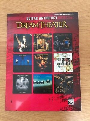 Dream Theater Guitar Anthology: Authentic Guitar Tab Edition (Softcover Book)