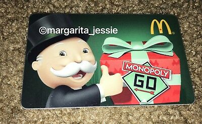 Mcdonald's Monopoly Gift Card Canada French 2012 Mcdonalds Rare