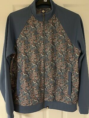 e2a2b446d Pretty Green Vintage Paisley Track Top Jacket Large - Gorgeous Rare Print