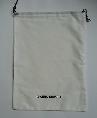 """new ISABEL MARANT med cotton  DUST BAG storage gift shoe bags  18"""" x 13"""""""