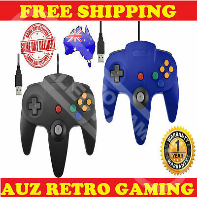 Nintendo 64 N64 USB Controller For PC Mac Windows