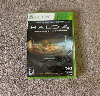 Xbox 360 Halo 4 Game of the Year Edition Microsoft - New & Sealed + FREE Ship!