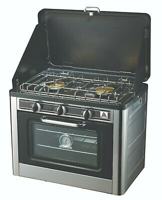 Super grills Gas Camp Oven Portable Camping Stainles Steel Outdoor 2 burner hob