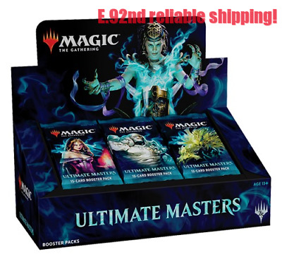MTG Ultimate Masters  Booster Box SEALED W/BOX TOPPER IN STOCK NEW SEALED