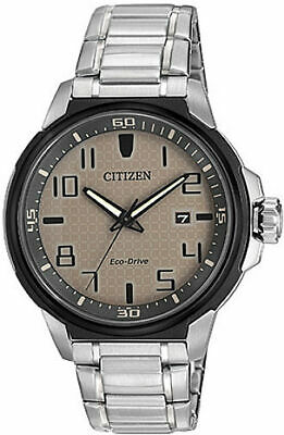 Men's Citizen Eco-Drive AR Stainless Steel Watch AW1461-58H