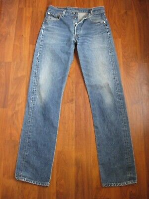 799b5c8b Levis Vintage 501 Men's Jeans Button Fly Size 29 X 34 In Good Condition!