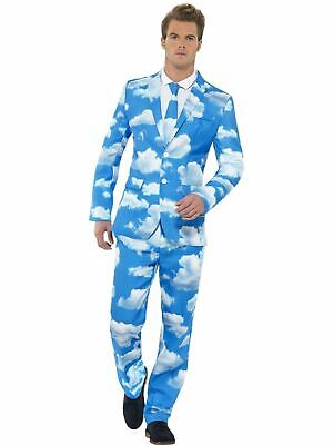 Sky High Stand Out Suit Mens Fancy Dress Stag Party Costume Dresup