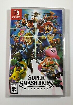 Super Smash Bros. Ultimate (Nintendo Switch, 2018) - NEW - Free Fast Shipping