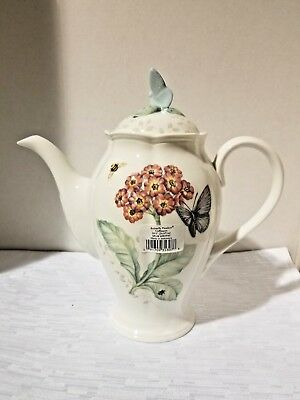 Lenox Butterfly Meadow Large Coffee Pot and lid