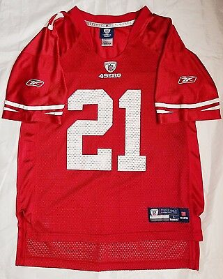 a1f014542 Nfl Reebok San Francisco 49Ers Frank Gore  21 Football Youth Jersey Size L