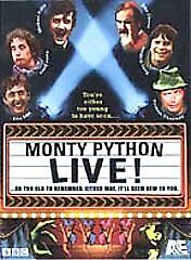 Monty Python Live (DVD, 2001, 2-Disc Set) NEW John Cleese Michael Palin 270 min