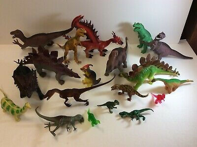 Toys & Hobbies Action Figures Lot Of Small Dinasaurs B22
