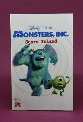 Instruction Booklet/Manual Only For Monsters, Inc. Scare Island Ps2 (No Game) ❄️