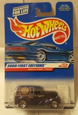 Hot Wheels 2000 First Editions Anglia Panel Truck Die Cast