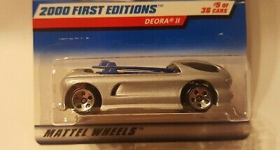 Hot Wheels 2000 First Editions Deora Ii Silver #5 Of 36 Die Cast