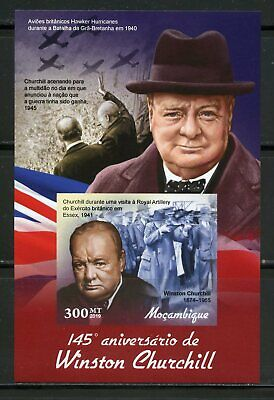 MOZAMBIQUE 2019 145th ANNIVERSARY OF WINSTON CHURCHILL IMPER S/SHEET MINT  NH