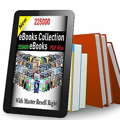 225000 eBooks Package Collection   Pdf Format   With Master Resell Rights