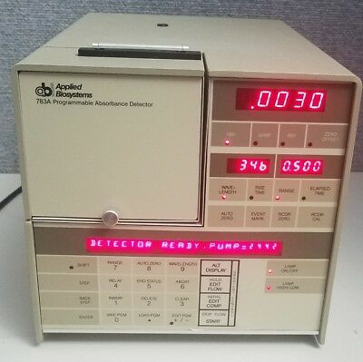 AB Applied Biosystems Programmable Absorbance Detector 783A
