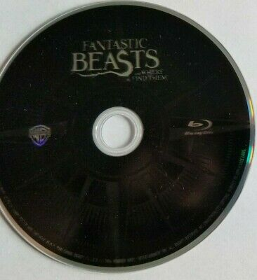 Fantastic Beasts Crimes of the Grindelwald & Were to Find Them Blu-ray Disc only