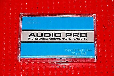 Audio Pro  Professional Chrome Master  60  Blank Cassette Tape (1) (Sealed)