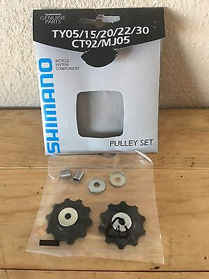 1 Pair Shimano Pulleys TY05//15//20//22//30 CT92//MJ05 for non-indexed Derailleurs