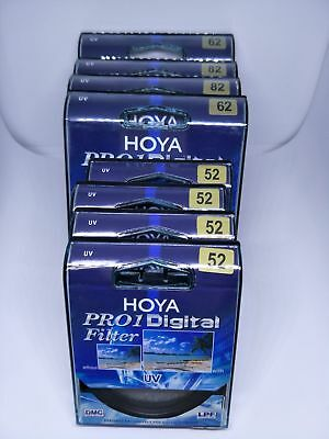 NEW Hoya Pro1 UV DMC LP Digital  49mm_82 mm Filter Multicoated Pro 1D ~ Genuine