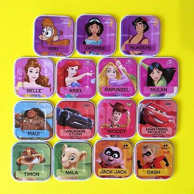 Woolworths Disney Words Choose Pick a Tile various - [FREE POST]  $2.5 each