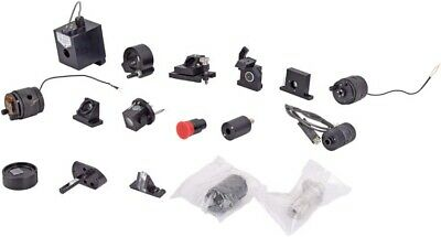 Mixed Lot of 17x Lab Optical Laser Filter/Mirror/Lens Mount/Fixture Assembly