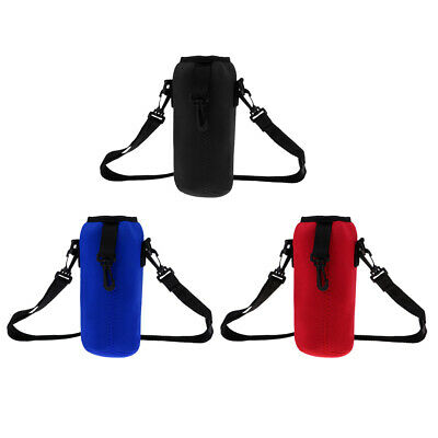 1000ml Sports Camping Water Bottle Insulated Bag Pouch Holder Sleeve Carrier