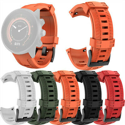 Sports Silicone Replacement Wristband Band Strap for SUUNTO 9/ Baro Smart Watch
