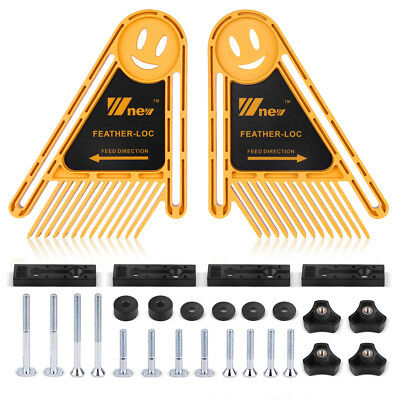 Stageek Woodworking Tools  Feather Loc Board Dual Featherboards for Router Table