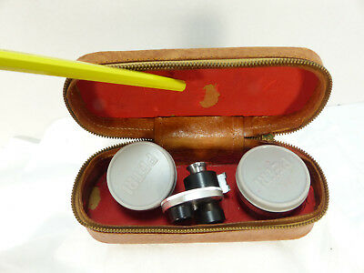Vintage PETRI  F:2.8 Auxillary Lens Kit, Wide angle and Telephoto and Viewer